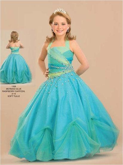Rachel Allan Perfect Angel 1306 Mermaid Blue