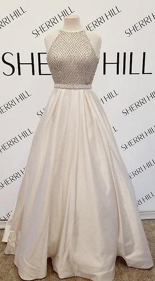 Sherri Hill 52019 Ivory