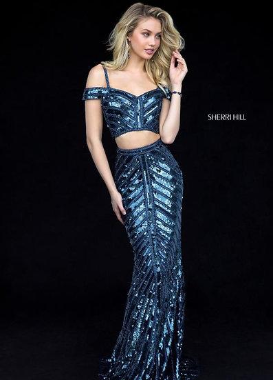 Sherri Hill 51934 Navy