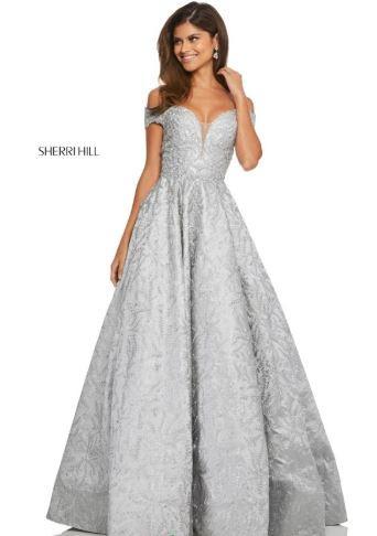 7d877136d72 Sherri Hill 52507 Silver