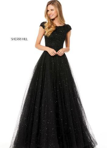 Sherri Hill 52365 Black