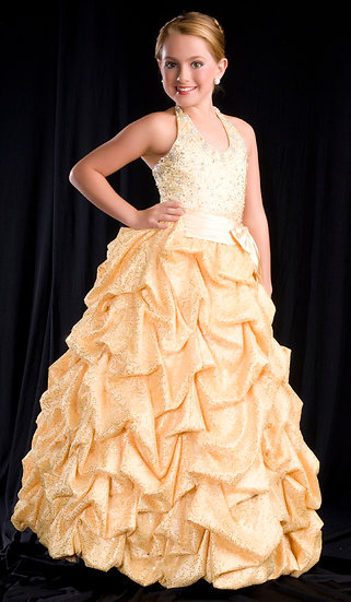 Mac Duggal 4673S Yellow