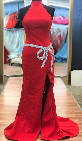 Sherri Hill 52288 Red/Silver