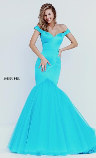 Sherri Hill 50732 Turquoise