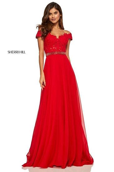 Sherri Hill 52729 Red