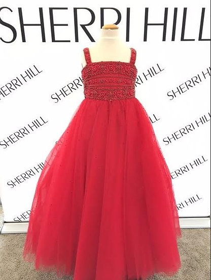 Sherri Hill K51453 Red