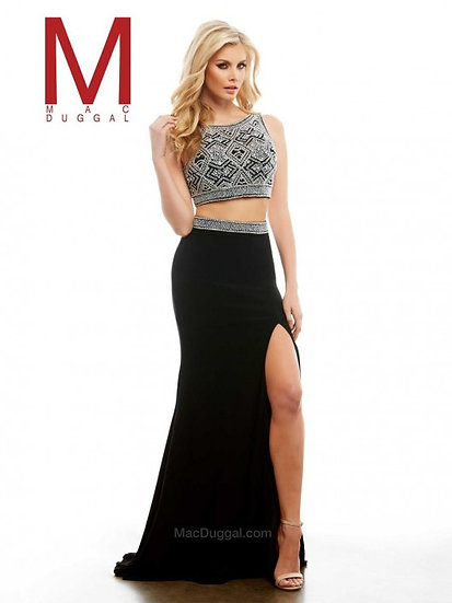 Mac Duggal 40537A Black/Multi