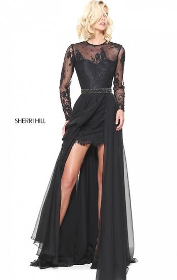 Sherri Hill 50949 Black