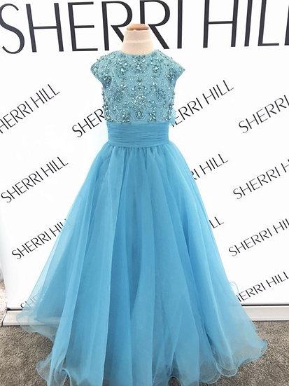Sherri Hill K51261 Light Blue