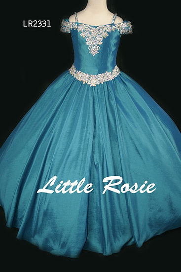 Little Rosie LR2331 Teal