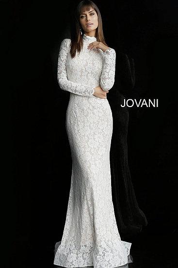 Jovani 63209A Off White/Nude