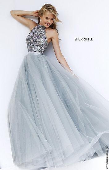 Sherri Hill 11316 Silver