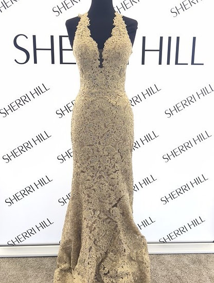 Sherri Hill 51616 Gold