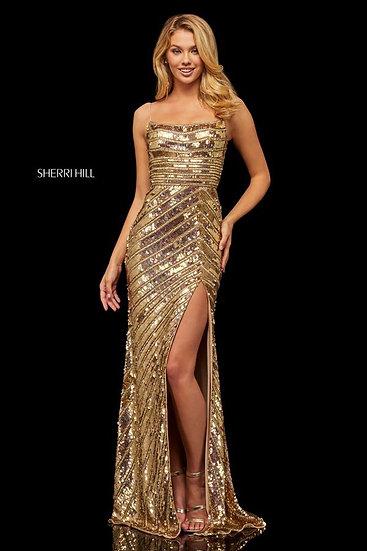Sherri Hill 52558 Gold