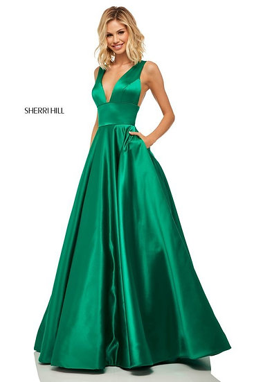 Sherri Hill 52911 Emerald