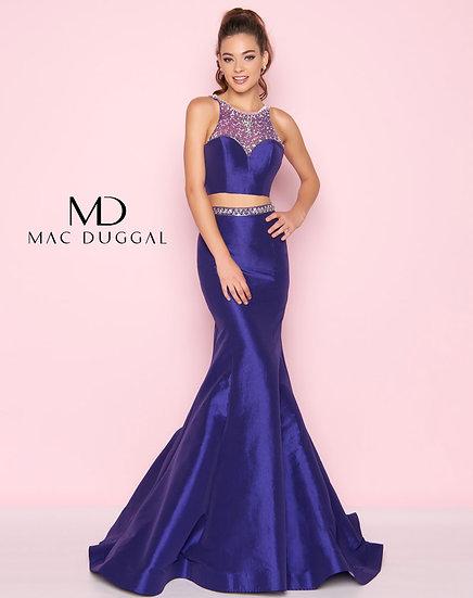 Mac Duggal 66496 Royal Purple