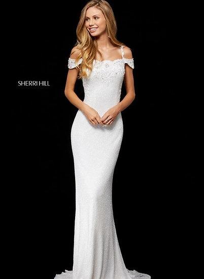 Sherri Hill 52292 Ivory