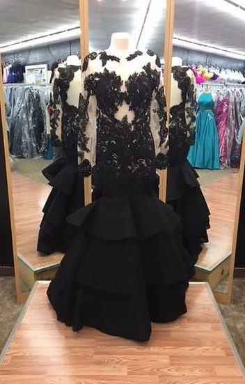 Sherri Hill 52044 Black