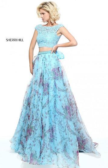 Sherri Hill 51176 Blue Print