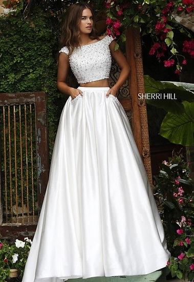 Sherri Hill 50088 Ivory
