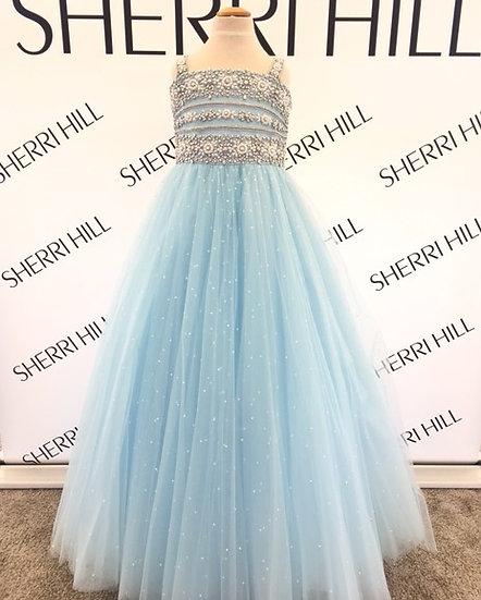 Sherri Hill K51453 Light Blue