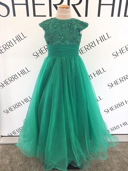 Sherri Hill K51261 Emerald
