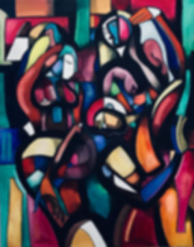 abstract art, max hembrow, maximillian hembrow art, original painting, picasso, cubism, contemporary painting, contemporary art, hembrow art, abstract painting