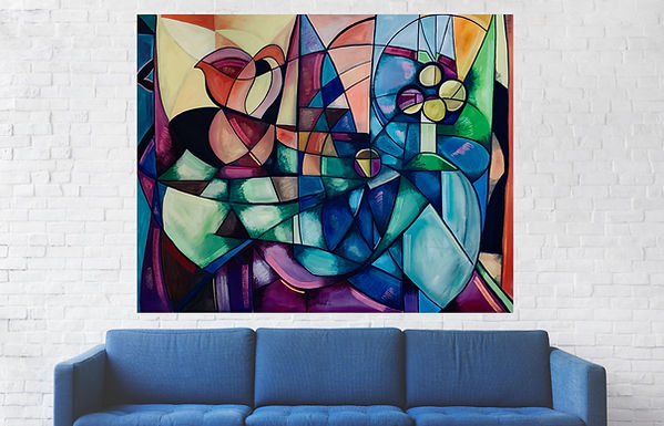 maximilillian Hembrow, max hembrow art, maximillian hembrow art. abstract art, cubist art, max hembrow