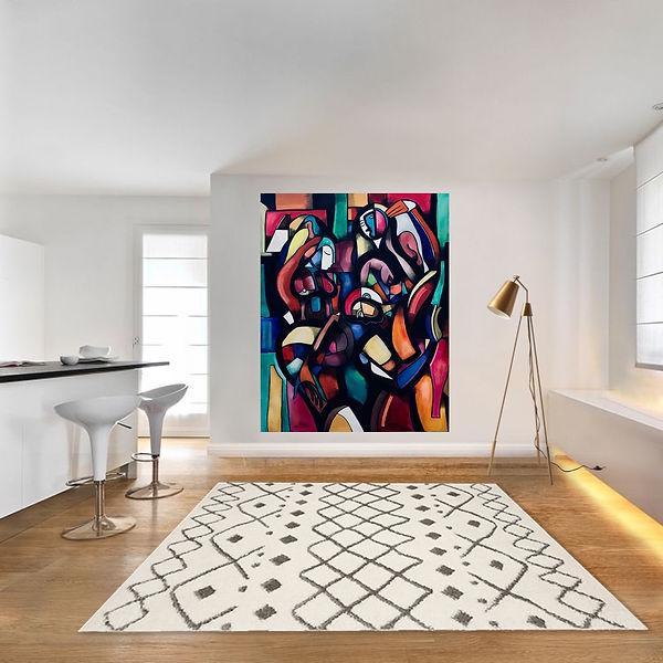 Interior desisn, interior painting, maximillian hembrow painting, max hembrow, max hembrow painting interior design