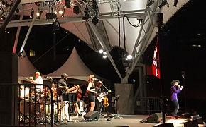 Backline for Band Live Performance