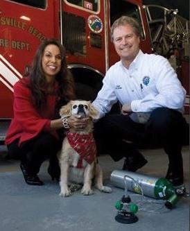 Fire Dept. Receives Oxygen Masks for Pets