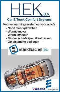 Parkeerverwarming standkachel