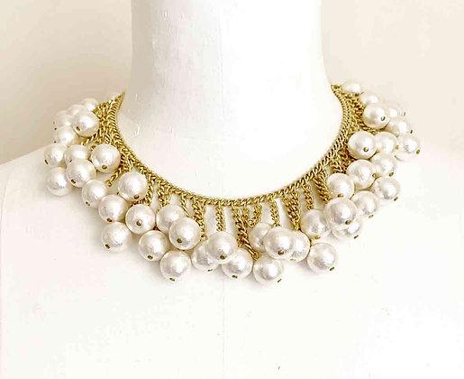 Tiara necklace gold sample