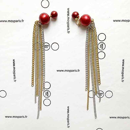 Paon earring (One side)