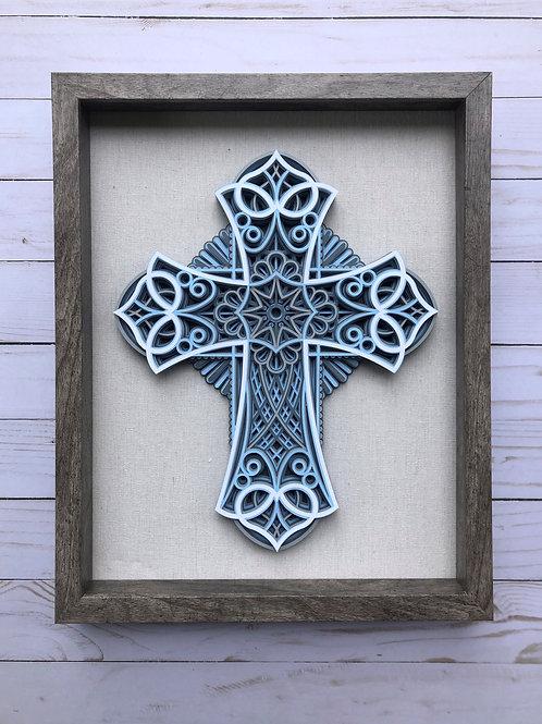 3D Mandala Cross