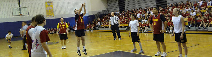Student vs. Teacher Basketball Game