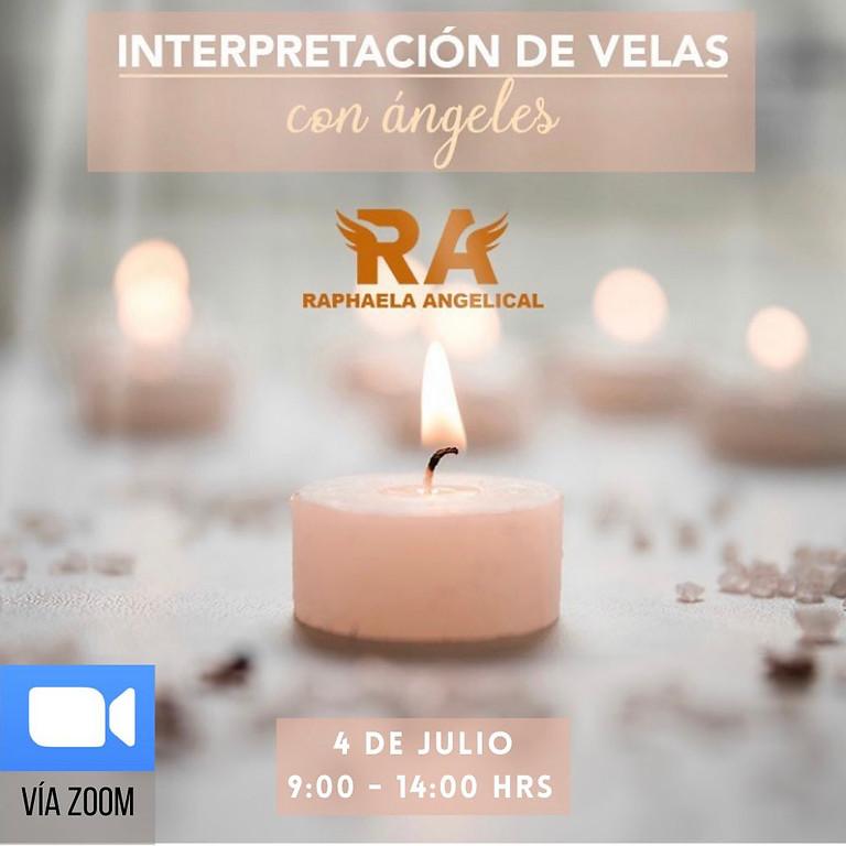 Interpretación de velas con ángeles