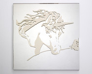 Carnival Mirror Prize (Unicorn with Rose)