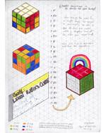 Day 1 of Rubik's Cube Training