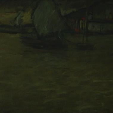 1931. Nel Porto di Spalato