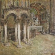 1939. L'Interno della Cattedrale di Spalato