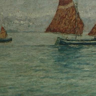 1899. Sailing boats