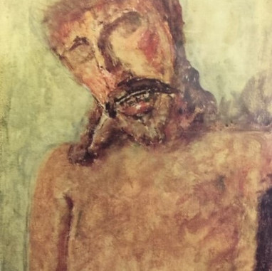 """1940. The """"Gothic Christ"""" from Trogir"""