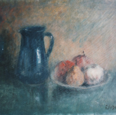 1942. Jug and fruits