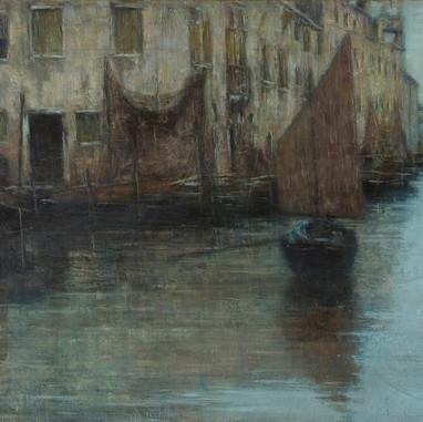 1903. Giudecca, sumrak
