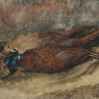 1941. Pheasants from Marjan Hill