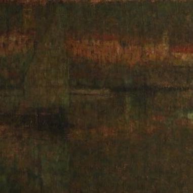 1909. Harbour at Dusk