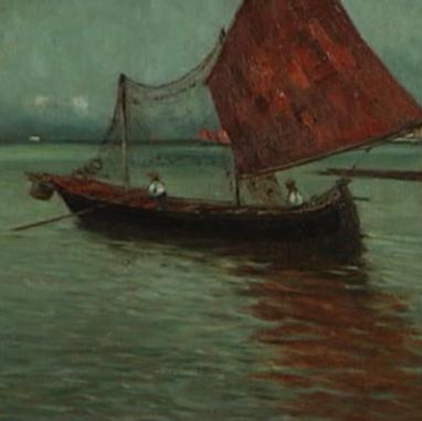 1897. - 1898. Lagoon. Venice