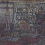 1947. La Libreria con la Statua di Eva