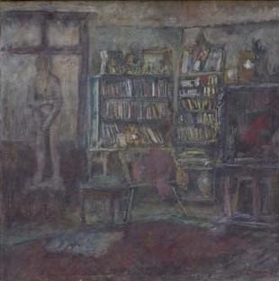 1947. Biblioteka s Evom